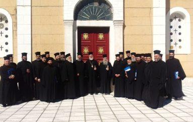 Ολοκληρώθηκε το Επιμορφωτικό Σεμινάριο Κληρικών στην Ι. Μ. Σπάρτης (ΦΩΤΟ)