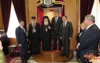 Ο Πρόεδρος της Βοσνίας στον Πατριάρχη Ιεροσολύμων (ΦΩΤΟ)