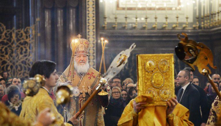 Η Κυριακή της Ορθοδοξίας στο Πατριαρχείο Μόσχας (ΦΩΤΟ)