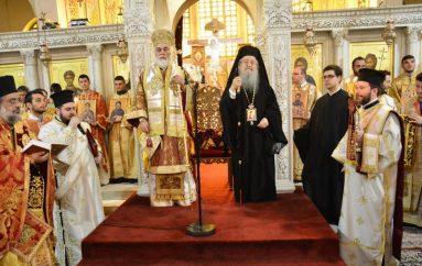 Η Κυριακή της Ορθοδοξίας στην Ι. Μητρόπολη Θεσσαλονίκης (ΦΩΤΟ)