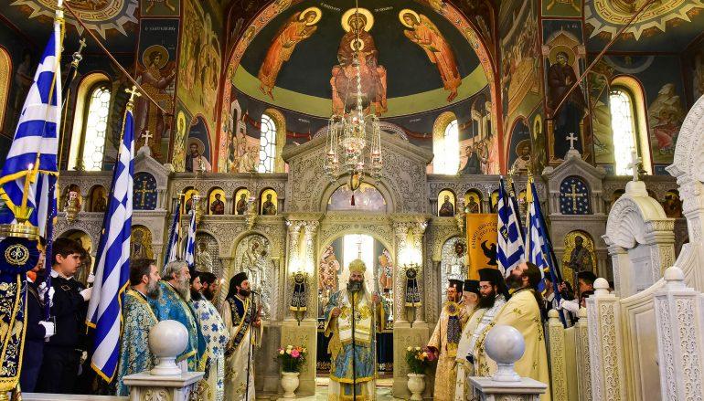 Η εορτή του Ευαγγελισμού της Θεοτόκου στην Ι. Μ. Λαγκαδά (ΦΩΤΟ)