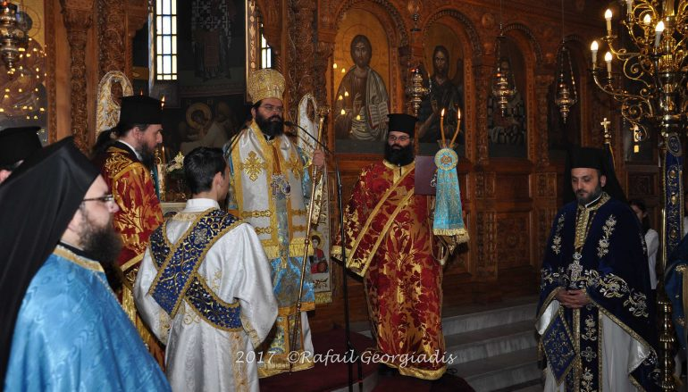 Η εορτή του Ευαγγελισμού της Θεοτόκου στην Κομοτηνή (ΦΩΤΟ)