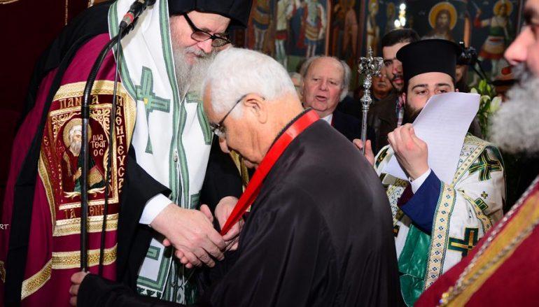 Νέος Άρχοντας του Οικουμενικού Πατριαρχείου ο κ. Σταμάτης Αποστολάκης (ΦΩΤΟ)