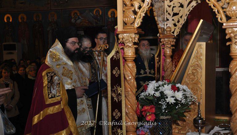 Πανηγυρικός εσπερινός στον Καθεδρικό Ναό Ευαγγελισμού της Θεοτόκου Κομοτηνής (ΦΩΤΟ)