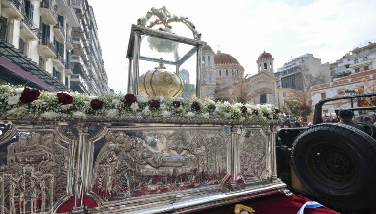 Πανδήμως η Θεσσαλονίκη εόρτασε τον Άγιο Γρηγόριο τον Παλαμά (ΦΩΤΟ)