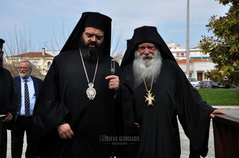 Ο Καθηγούμενος της Ι. Μονής Ξενοφώντος στην Ι. Μ. Μαρωνείας (ΦΩΤΟ)
