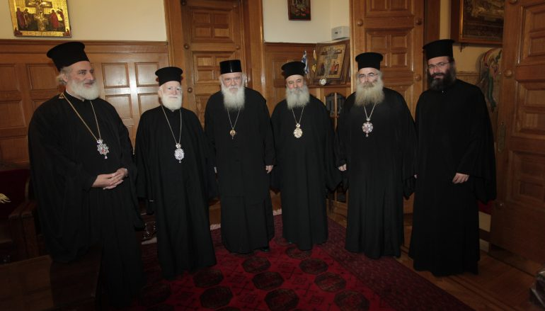 Επιστολή της Ι. Συνόδου της Κρήτης στον Αρχιεπίσκοπο Αθηνών