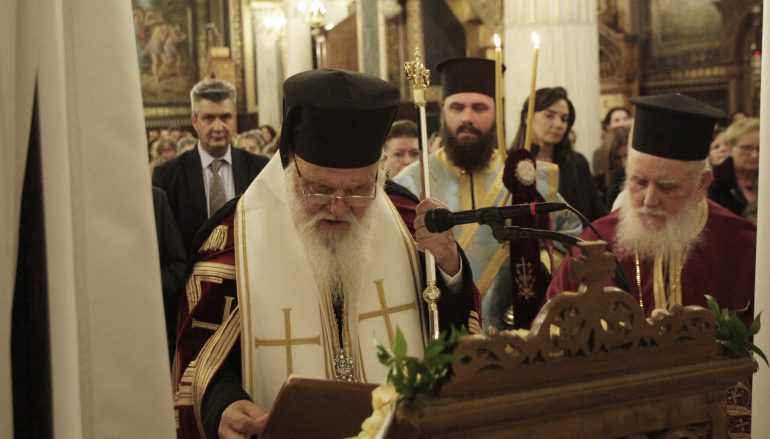 Αρχιεπίσκοπος Αθηνών: «Η Εκκλησία είναι φύλακας και φρουρός αυτού του τόπου» (ΦΩΤΟ)