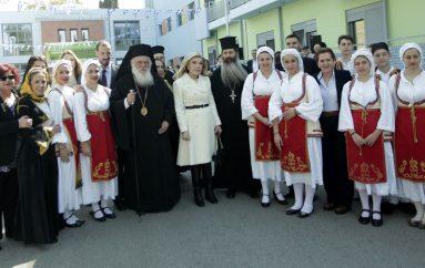 O Αρχιεπίσκοπος στην εορτή για την 25η Μαρτίου στην Ογκολογική Μονάδα «ΕΛΠΙΔΑ» (ΦΩΤΟ)