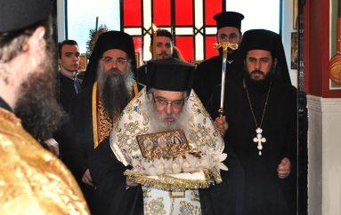 Τα Γιαννιτσά υποδέχθηκαν Λείψανο της Αγίας Αικατερίνης (ΦΩΤΟ)
