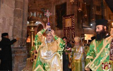 Η Κυριακή της Σταυροπροσκυνήσεως στο Πατριαρχείο Ιεροσολύμων (ΦΩΤΟ-ΒΙΝΤΕΟ)