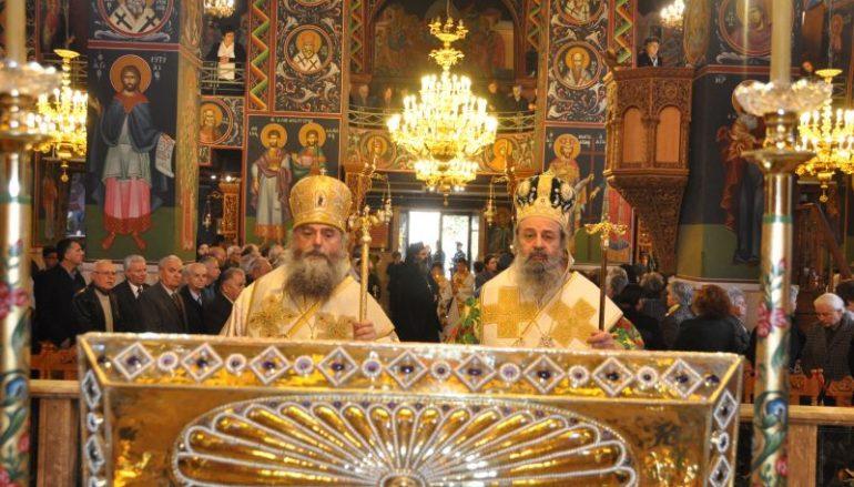 Ο Ευαγγελισμός και η εορτή του Οσίου Γεωργίου του Νέου στην Ι. Μ. Δράμας (ΦΩΤΟ)