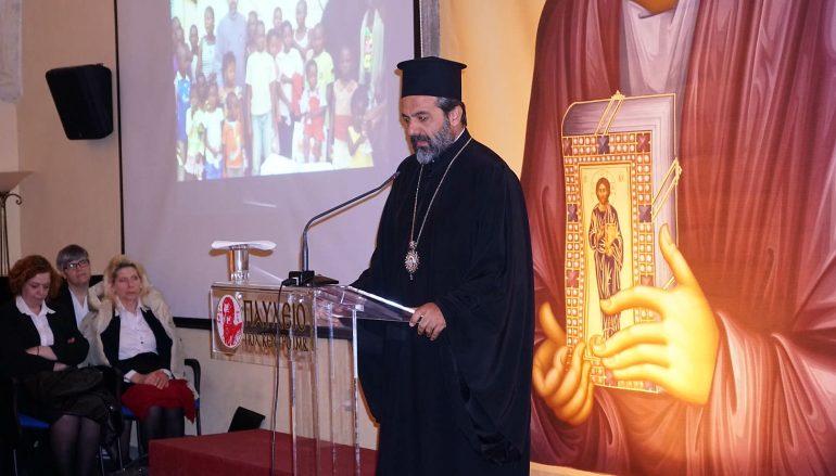 Ομιλία του Μητροπολίτη Καμερούν Γρηγορίου στη Βέροια (ΦΩΤΟ)