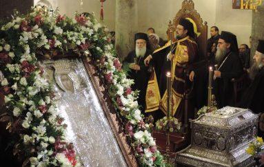 Πολυαρχιερατικός Εσπερινός Αγίας Θεοδώρας Πολιούχου Άρτης (ΦΩΤΟ)