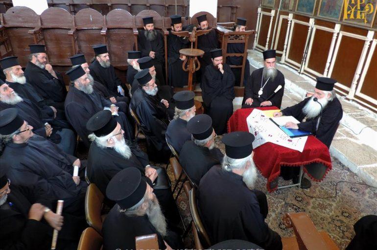 Ο Αργολίδος Νεκτάριος στην Ιερατική Σύναξη της Ι. Μ. Άρτης (ΦΩΤΟ)