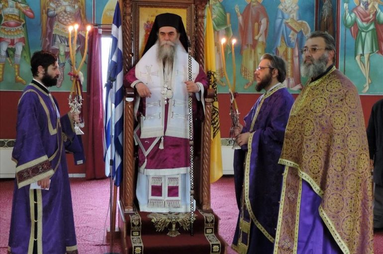 Η Εικόνα της Παναγίας Ροβέλιστας στην Ενορία Συκεών Άρτης (ΦΩΤΟ)