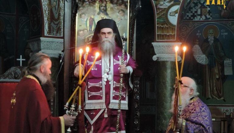 Προηγιασμένη Θεία Λειτουργία στον Μητροπολιτικό Ναό Άρτης (ΦΩΤΟ)