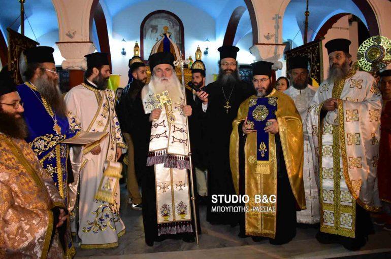 Ο εσπερινός του Ευαγγελισμού της Θεοτόκου στην Ι. Μ. Αργολίδος (ΦΩΤΟ)