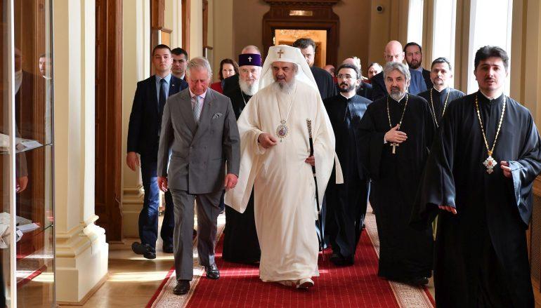 Στον Πατριάρχη Ρουμανίας ο Πρίγκιπας Κάρολος (ΦΩΤΟ)