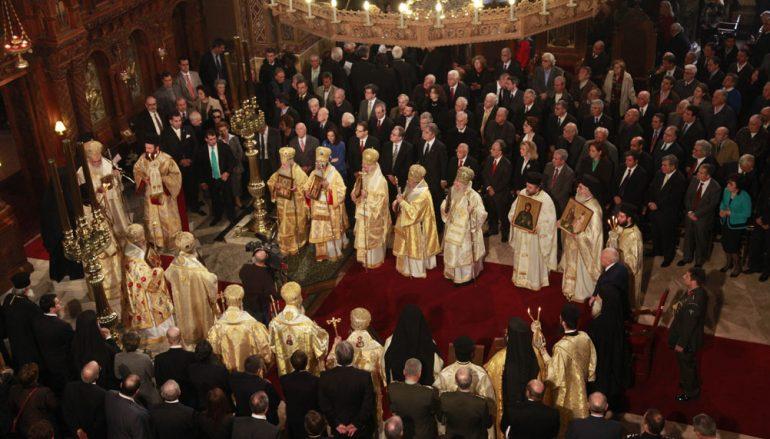 Συνοδική Θεία Λειτουργία για την Κυριακή της Ορθοδοξίας
