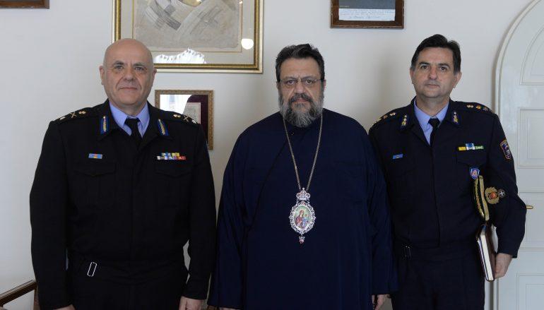 Στο Μητροπολίτη Μεσσηνίας ο Περιφερειάρχης Πυροσβεστικής Πελοποννήσου (ΦΩΤΟ)