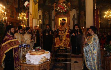Πολυαρχιερατικός εσπερινός των Αγίων Θεοδώρων στη Νέα Ορεστιάδα (ΦΩΤΟ)