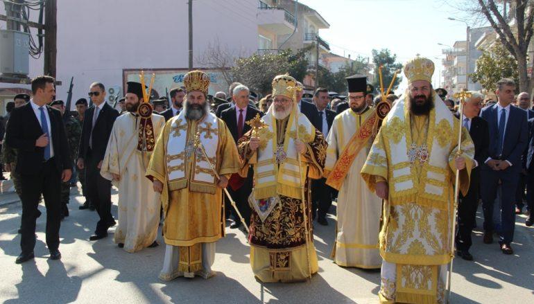 Παρουσία του Προέδρου της Δημοκρατίας τίμησε η Ορεστιάδα τους Πολιούχους της (ΦΩΤΟ)