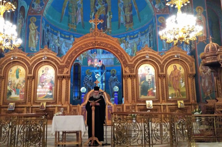 Ομιλία Πρωτοπρ. Μιχαήλ Χαλά στον Ι. Ναό Κοιμήσεως Θεοτόκου Παλαιού Φαλήρου (ΦΩΤΟ)