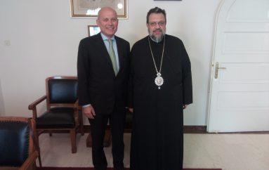Στο Μητροπολίτη Μεσσηνίας ο Πρέσβης της Ιταλίας (ΦΩΤΟ)