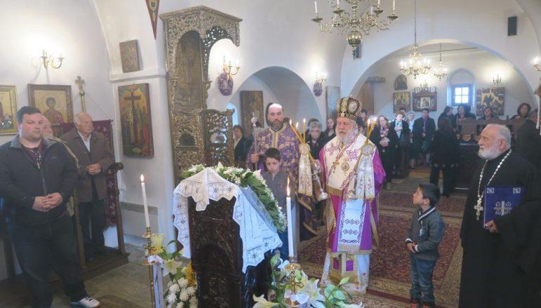 Θεία Λειτουργία των Προηγιασμένων Δώρων στην Φολέγανδρο (ΦΩΤΟ)