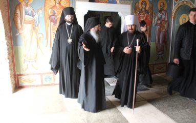 Επίσκεψη του Μητροπολίτη Βολοκολάμσκ Ιλαρίωνα στο Άγιο Όρος (ΦΩΤΟ)