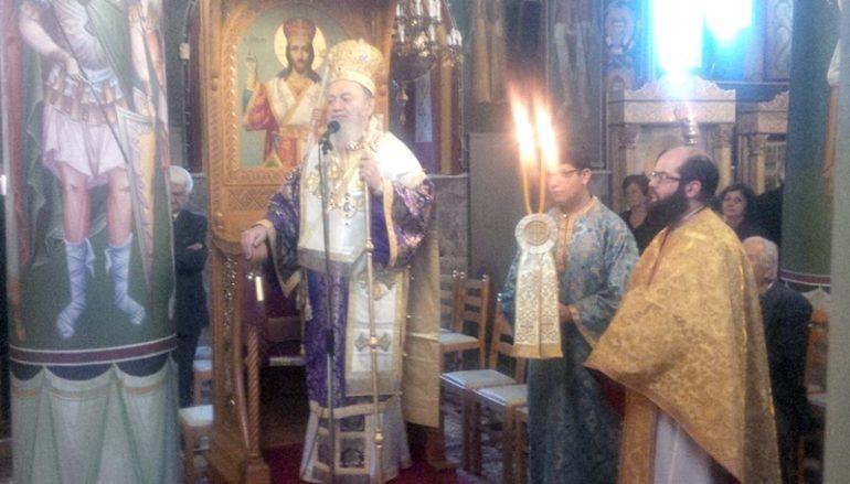 Η Β΄ Κυριακή των Νηστειών στην Ι. Μ. Χαλκίδος (ΦΩΤΟ)