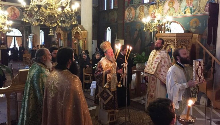 Τεσσαρακονθήμερο Μνημόσυνο του μακαριστού ιερέως Σταύρου Αναγνώστου (ΦΩΤΟ)