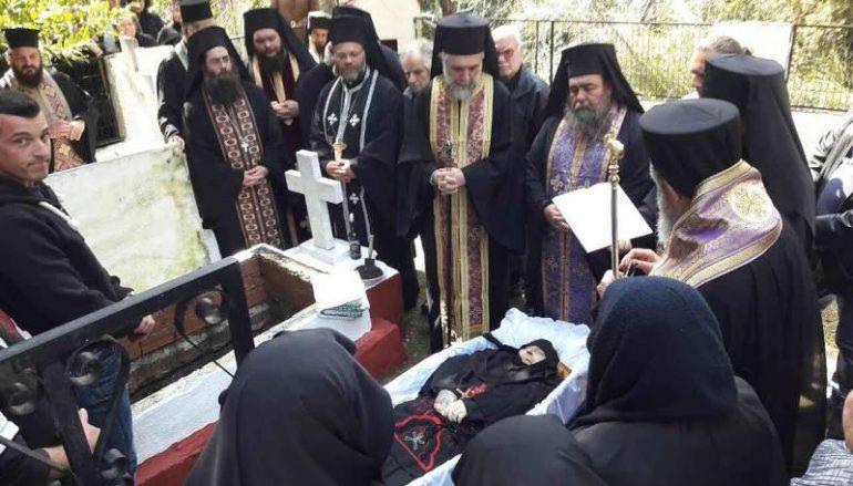 Εκοιμήθη η μοναχή Μαγδαληνή της Ι. Μ. Αγίου Γεωργίου Ηλίων (ΦΩΤΟ)