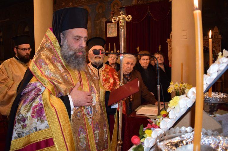 Η Ακολουθία των Α΄ Χαιρετισμών της Θεοτόκου στην Ι.Μ. Θεσσαλιώτιδος (ΦΩΤΟ)