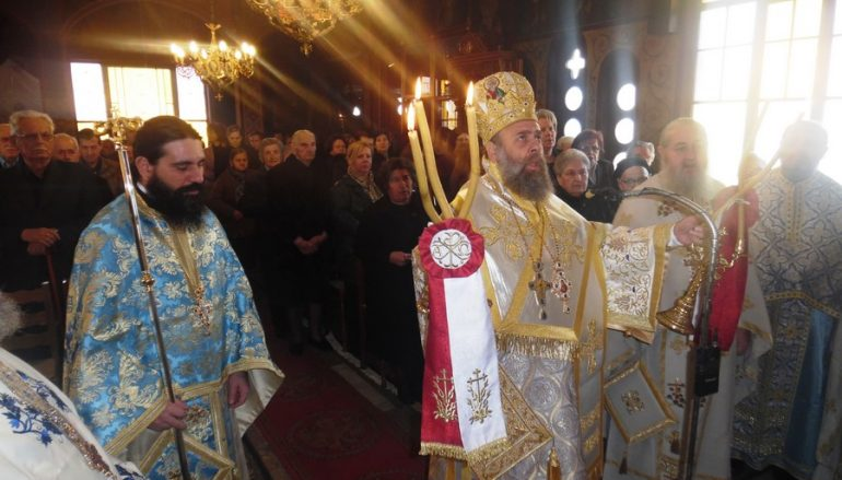 Η εορτή του Αγίου Θεοδώρου του Τήρωνος στην Ι. Μ. Θεσσαλιώτιδος (ΦΩΤΟ)