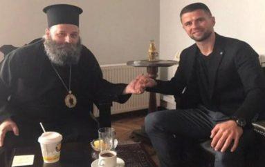 Στον Μητροπολίτη Ιωαννίνων μετανιωμένος ο Αλβανός ποδοσφαιριστής (ΦΩΤΟ)