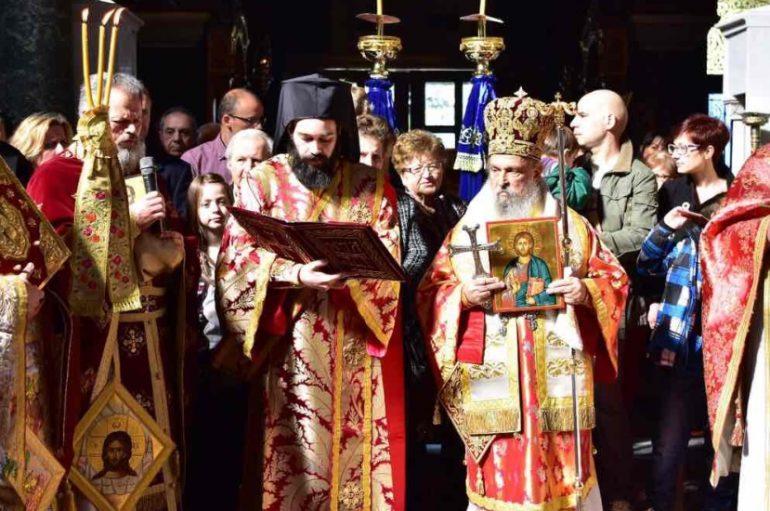 Η Κυριακή της Ορθοδοξίας στην Ι. Μητρόπολη Λαρίσης (ΦΩΤΟ)