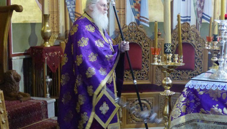 Προηγιασμένη Θ. Λειτουργία από τον Γερ. Εφραίμ στην Ι. Μ. Καστορίας (ΦΩΤΟ-ΒΙΝΤΕΟ)