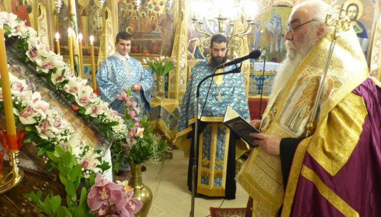 Ο Εσπερινός του Ευαγγελισμού της Θεοτόκου στην Καστοριά (ΦΩΤΟ-ΒΙΝΤΕΟ)