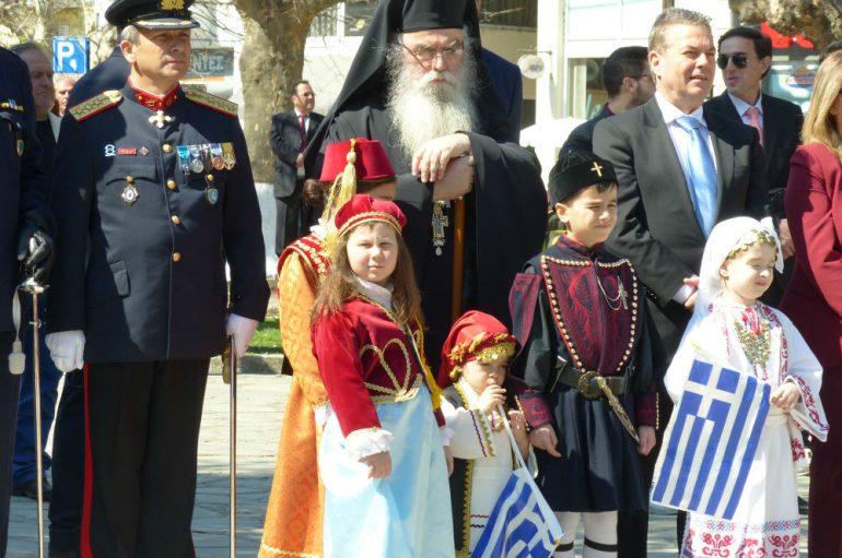 Ο εορτασμός της 25ης Μαρτίου στην Καστοριά (ΦΩΤΟ)