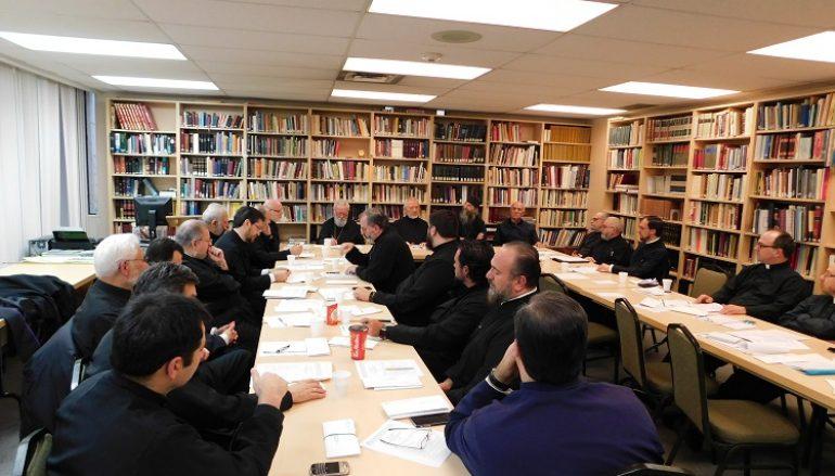 Μηνιαία σύναξη ιερέων στο Τορόντο και στο Μοντρεάλ (ΦΩΤΟ)