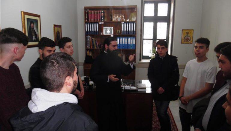 Επίσκεψη μαθητών του Εκκλησιαστικού Σχολείου Νεαπόλεως στην Ι. Μ. Θεσσαλιώτιδος (ΦΩΤΟ)