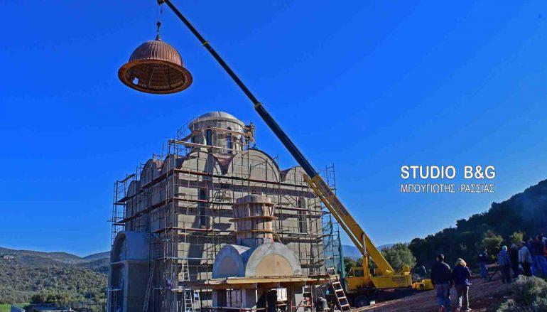 Ολοκληρώνεται ο μεγαλοπρεπής Ναός του Αγίου Λουκά στο Ναύπλιο (ΒΙΝΤΕΟ)