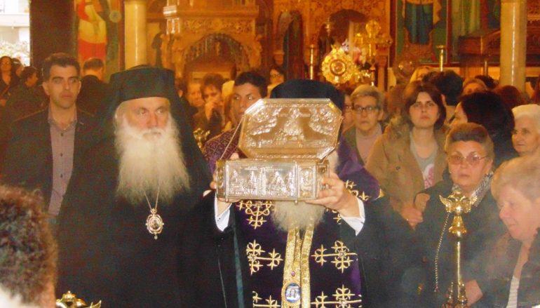 Ο Βόλος υποδέχθηκε Ιερά Λείψανα του Αγίου Λουκά του Ιατρού (ΦΩΤΟ)
