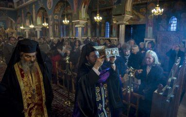 Λείψανα των Αγ. Ραφαήλ, Νικολάου και Ειρήνης υποδέχθηκε ο Βόλος (ΦΩΤΟ)