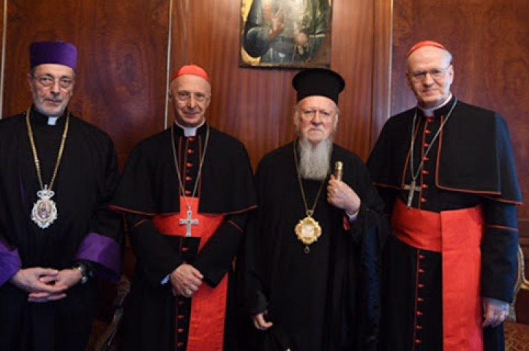 Ρωμαιοκαθολικοί Επίσκοποι στον Οικουμενικό Πατριάρχη