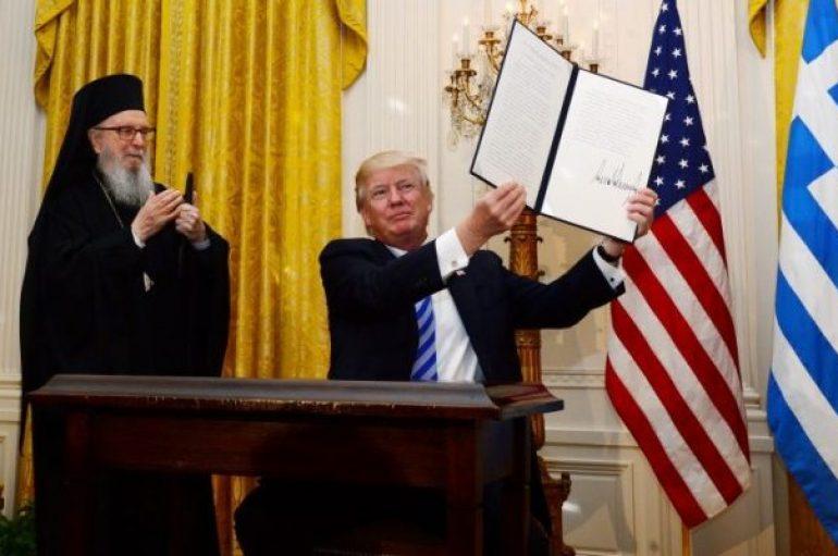 Αμερικής προς Τραμπ: «Η πιστή σας σύμμαχος Ελλάδα βρίσκεται σε θλίψη»