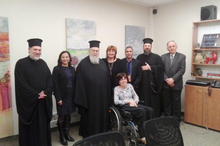 Συνεργασία της Εκκλησίας της Ελλάδος με το Υπ. Τουρισμού του Ισραήλ (ΦΩΤΟ)