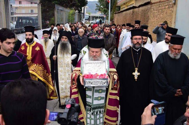 Τα Χανιά υποδέχθηκαν Ι. Λείψανο του Αγίου Γρηγορίου (ΦΩΤΟ-ΒΙΝΤΕΟ)